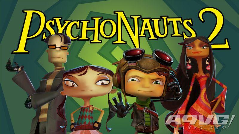 《Psychonauts 2(腦航員2/瘋狂世界2)》宣布延期至2020年