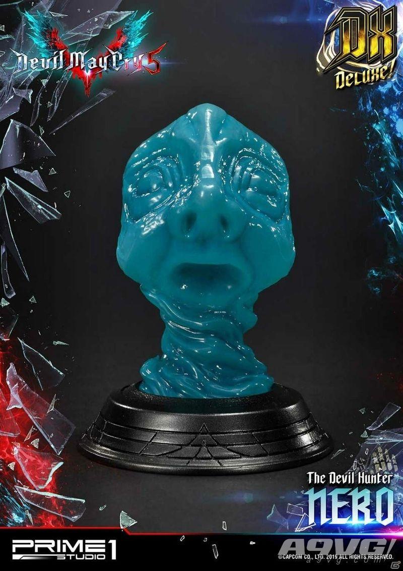 《鬼泣5》尼禄究极豪华大师雕像今日开订 大量预览图公开
