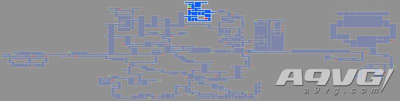 《血污 夜之仪式》终焉之间地图数据强化道具、宝箱位置