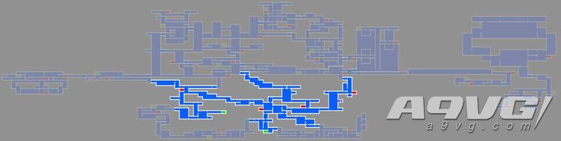 《血污 夜之仪式》地下水道地图数据强化道具、宝箱位置