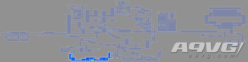 《血污 夜之仪式》炼狱炎窟地图数据强化道具、宝箱位置