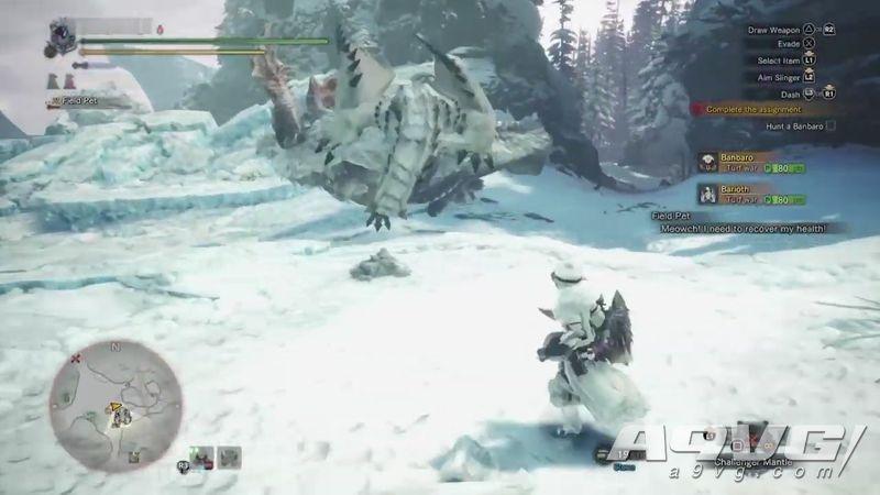 冰牙龙确定在《怪物猎人世界 Iceborne》中登场 新建模一览