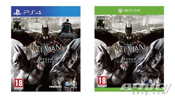 《蝙蝠侠 阿卡姆合集》实体版将于9月6日推出 PS4版含独占皮肤