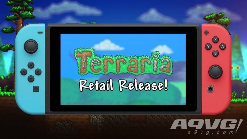 《泰拉瑞亚》NS实体版将于8月推出 制作组感谢玩家们的支持