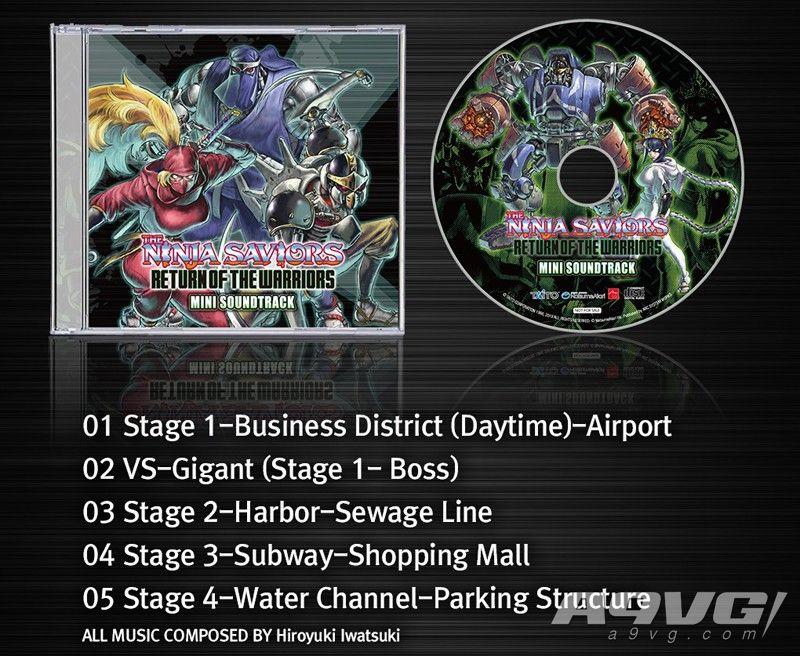 《忍者武士 重制版》大量游戏情报公开 预购可获得原声CD