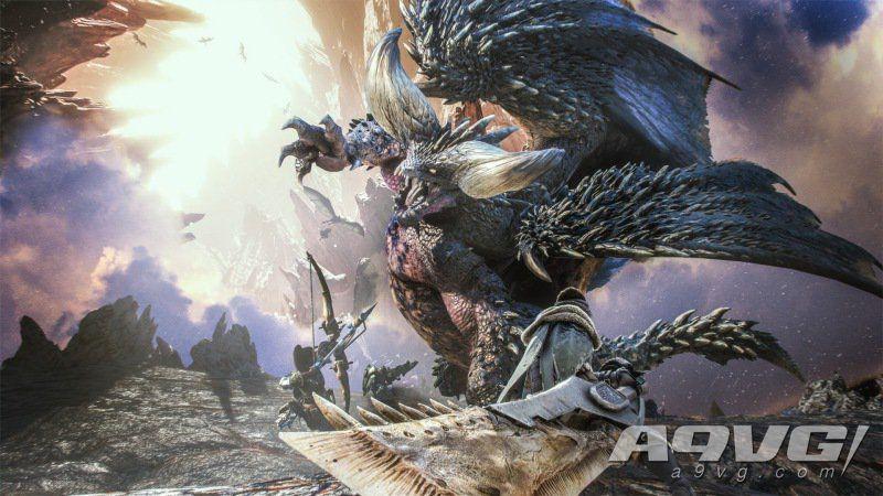 《怪物猎人世界》出货突破1300万 官方送攻击珠等道具礼包