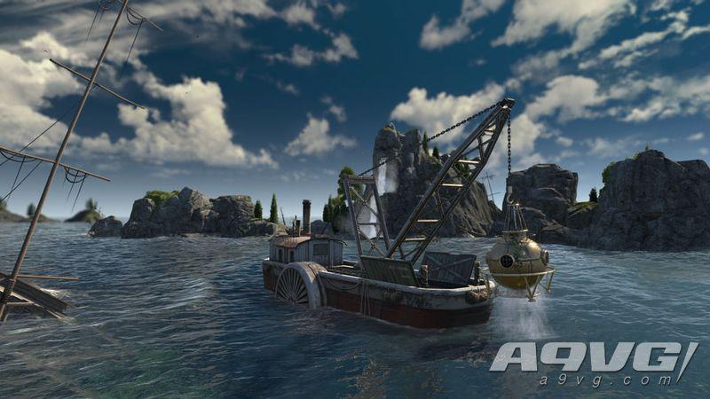 """在《纪元1800》首个DLC中探索""""沉没的宝藏"""""""