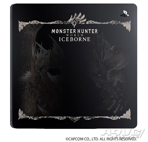 《怪物猎人世界 Iceborne》限定刻印主机盖、手柄、扬声器公开