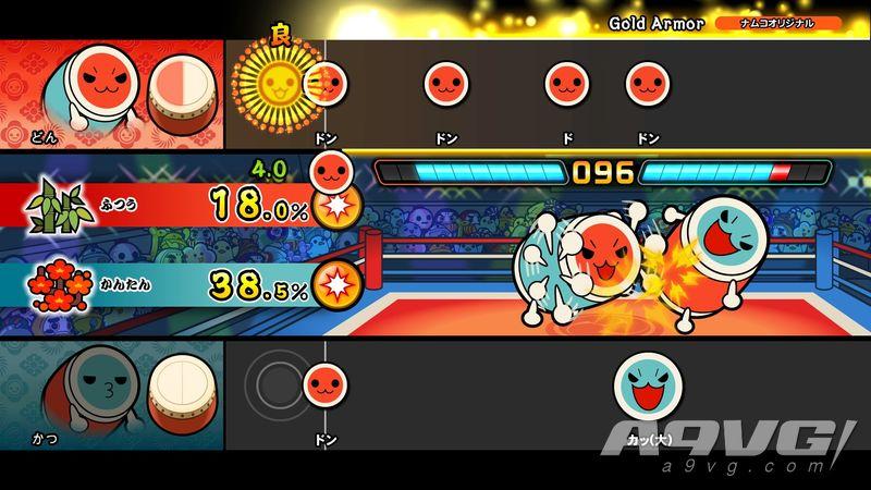 《太鼓达人Switch》免费大型更新「咚咔对战」今日正式发布