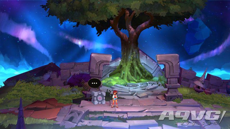 手绘动画RPG《Indivisible》10月发售 由骷髅女孩制作团队打造
