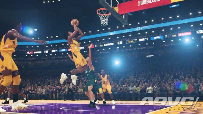 WNBA登陆《NBA 2K20》 包含12支队伍体验真实的女子篮球