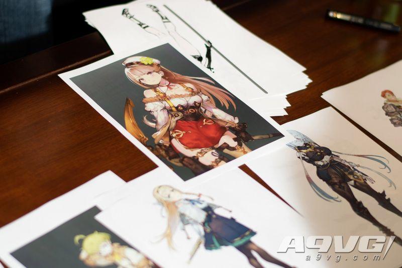 《莱莎的工作室》大量初期设定图 制作人与画师讲述角色设计