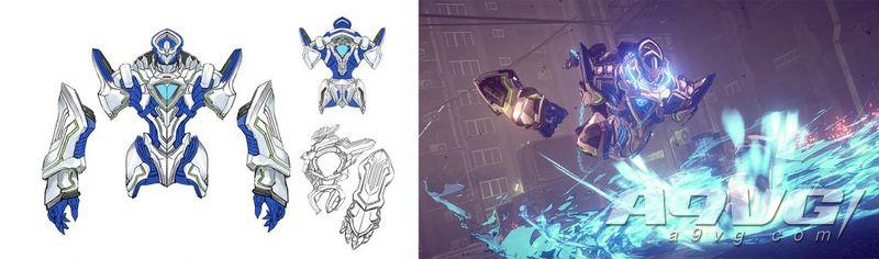 《异界锁链》公开大量Legion设定原画 豪华版特典艺术集收录