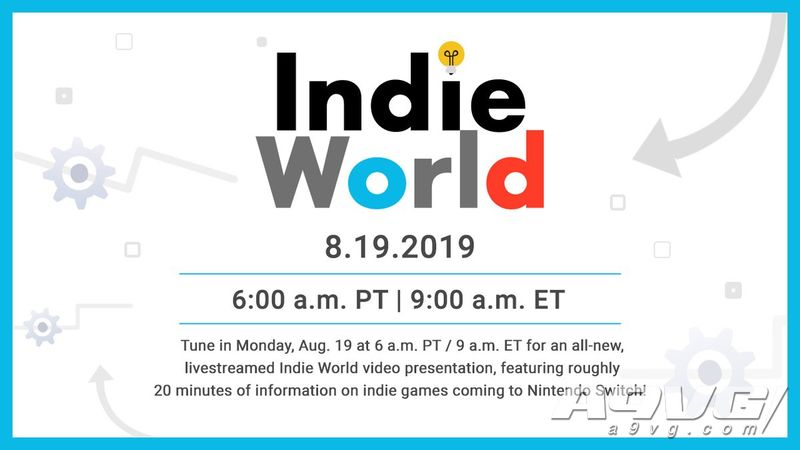 任天堂将于8月19日举办新一期独立游戏直播活动 时长约20分钟