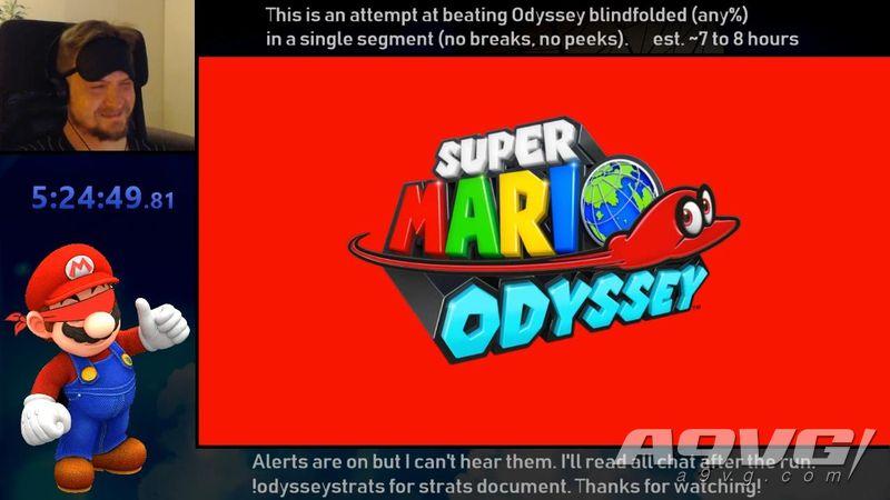 国外玩家蒙眼成功打通《超级马力欧 奥德赛》 耗时不到6小时