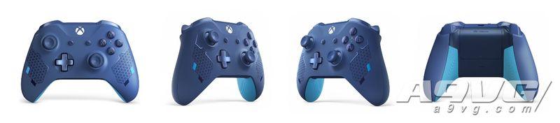 Xbox于科隆游戲展公布兩款全新手柄:暗夜行動和運動藍
