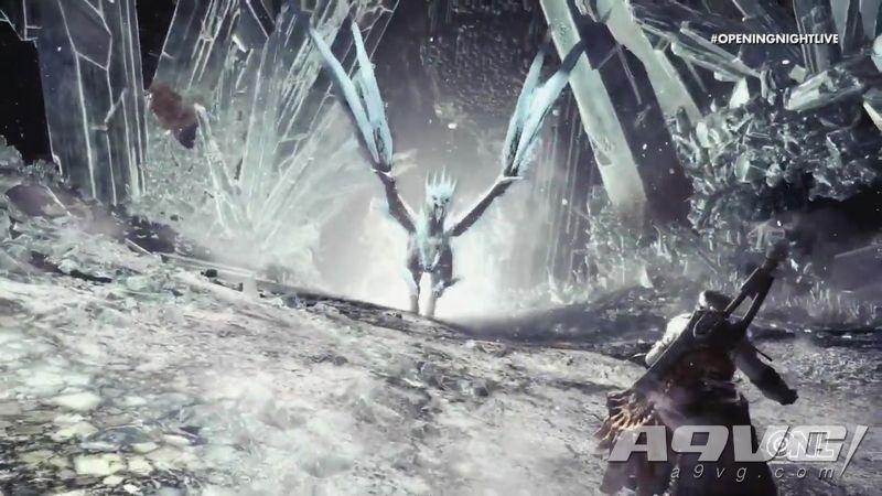 《怪物猎人世界 Iceborne》科隆展宣传片 冰呪龙实机战斗放出