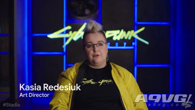 《赛博朋克2077》公开新片段和开发者访谈 将登陆谷歌Stadia