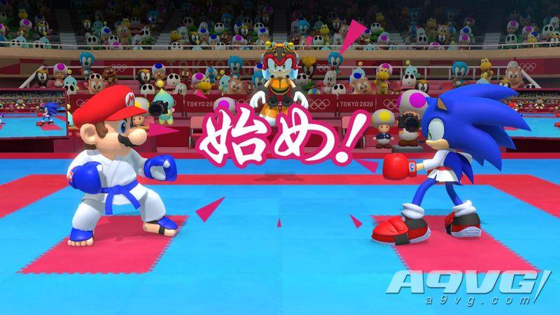 《马力欧与索尼克 AT 2020东京奥运》中文版11月1日推出