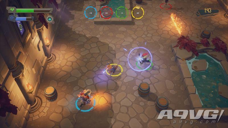 多人地牢探索游戏《ReadySet Heroes》10月2日发售