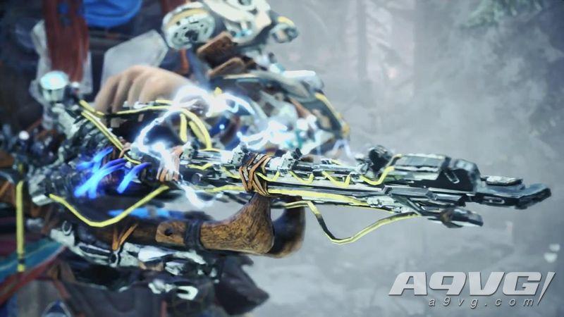 《怪物猎人世界 Iceborne》公开与《地平线》新联动影片