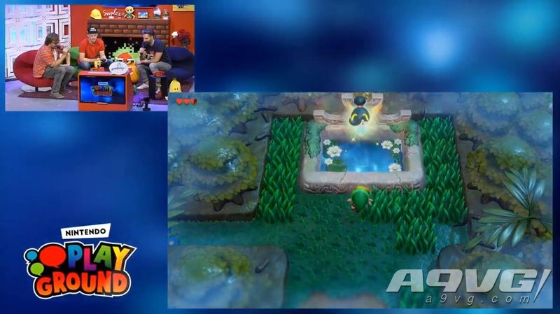 Switch《塞尔达传说 织梦岛》科隆游戏展实机试玩视频