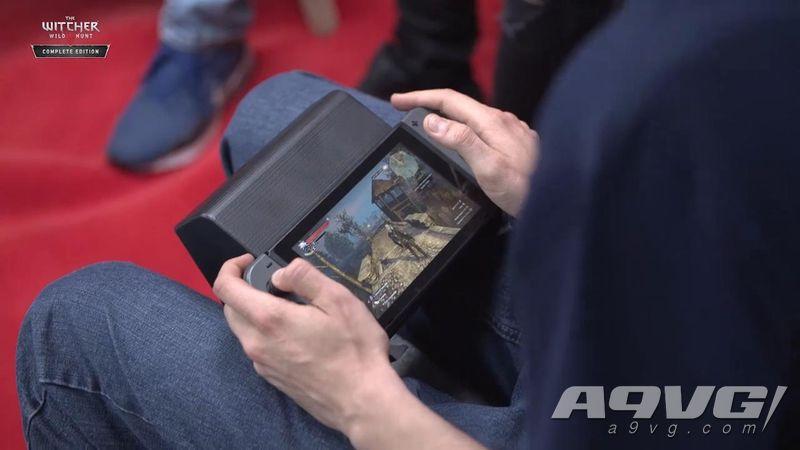 Switch《巫師3》科隆游戲展26分鐘掌機模式實機游玩視頻