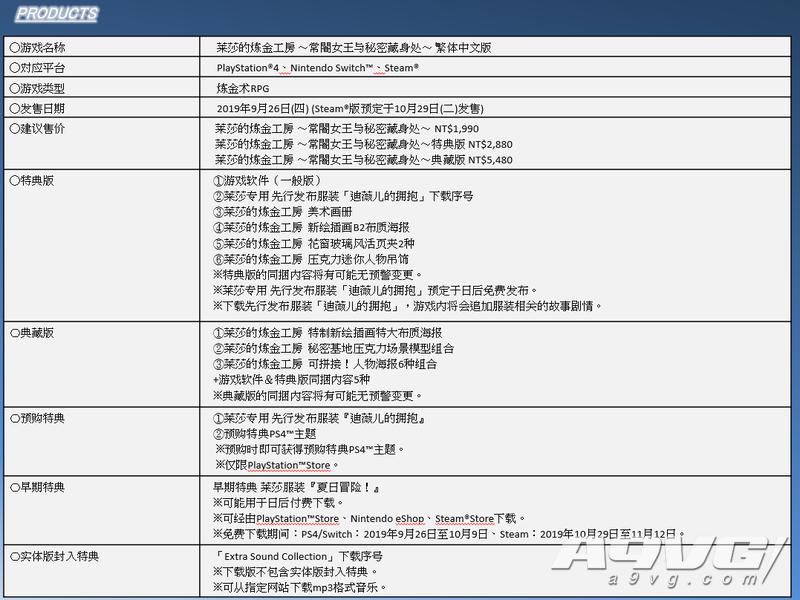 《莱莎的工作室》最新中文资讯 战斗系统与数字豪华版介绍