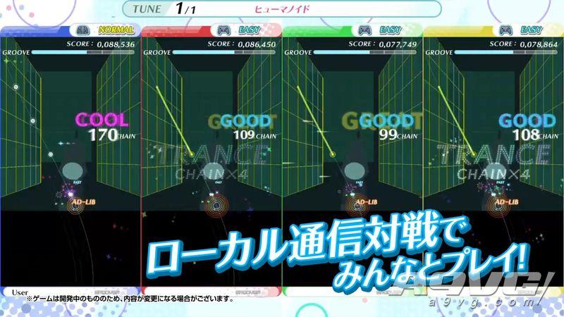 TAITO音游《节奏过山车 WaiWai Party!!》登陆Switch平台