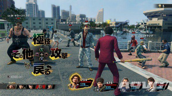 《如龙7》制作人横山昌义详解战斗系统 一切都是实时动态的