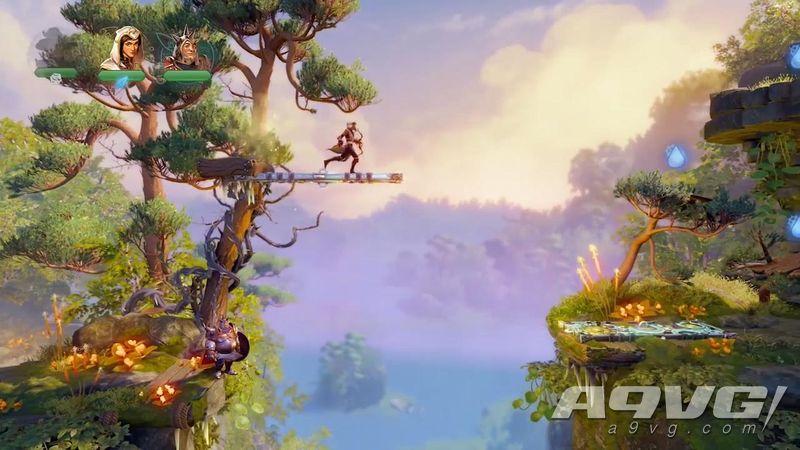 《三位一体4 梦魇王子》PAX West 8分钟实机游玩视频