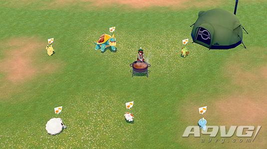 《宝可梦 剑/盾》公布换装、新宝可梦、营地、做饭等内容