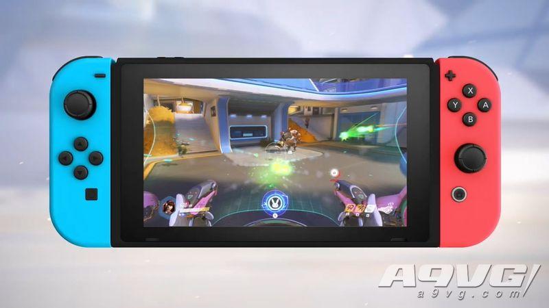 《守望先锋 传奇版》10月16日登陆Switch 支持体感操作