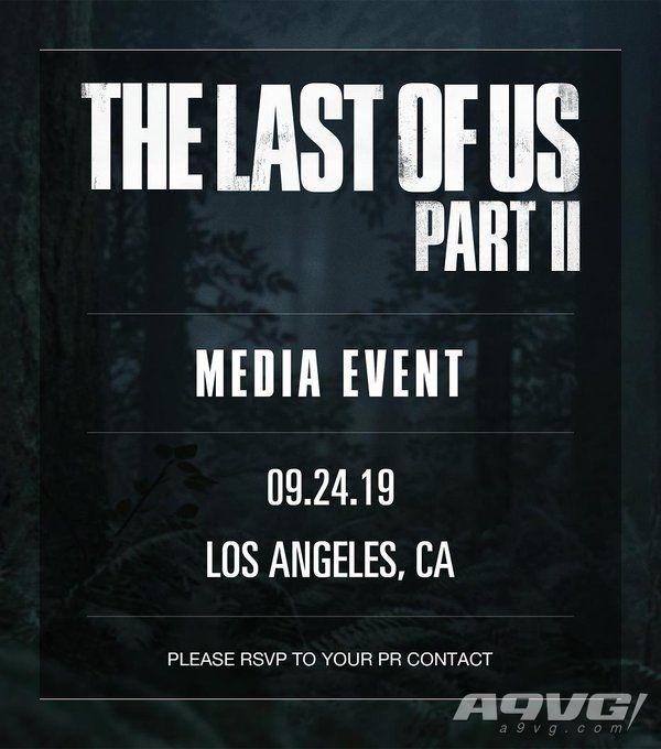 《最后生还者2》将于9月24日举行媒体发布会 或有新消息