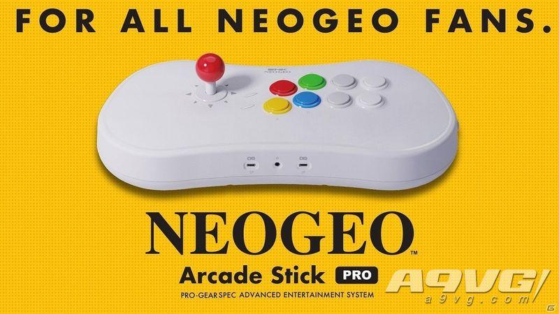 SNK街机摇杆NEOGEO Arcade Stick Pro详情公开