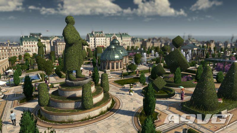 在《纪元1800》第二部DLC中打造你的植物园 体验自然花卉奇观