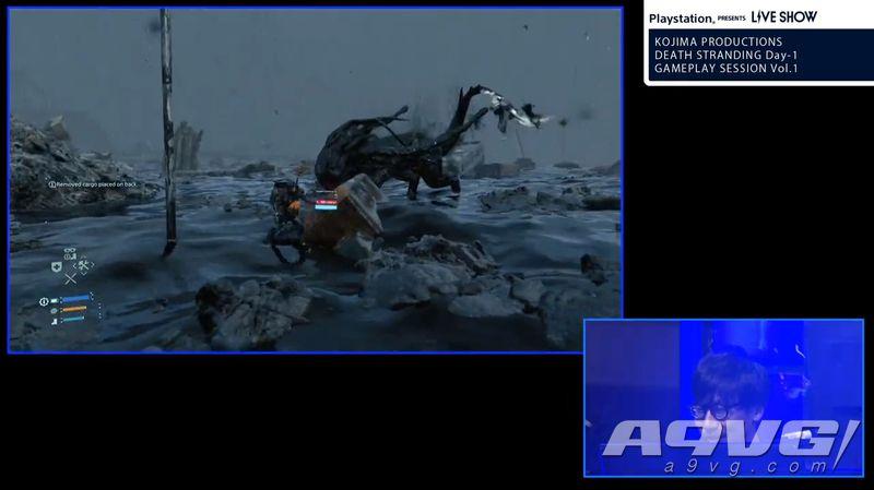 《死亡搁浅》公开49分钟实机演示 战斗内容首次实机演示