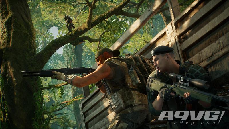 《铁血战士:狩猎场》预告片和实机影片 为非对称射击游戏