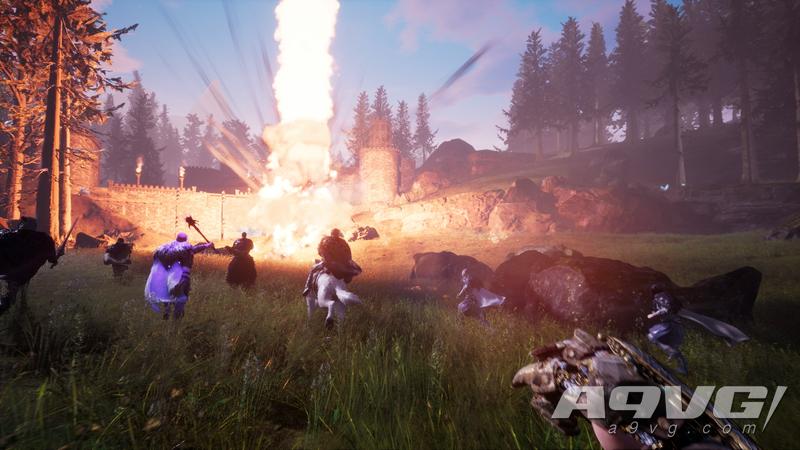 生存动作游戏《城塞 火焰之炼》秒速赛车版将于12月5日登陆PS4