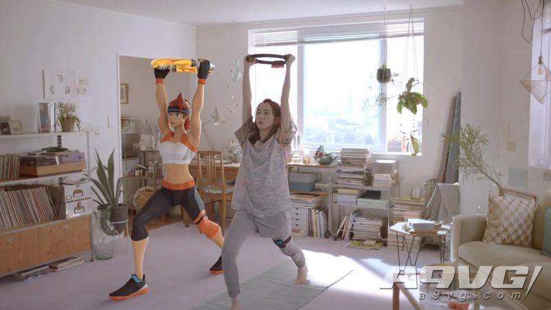 《健身环大冒险》CM宣传片及8分钟介绍影像 新垣结衣出演
