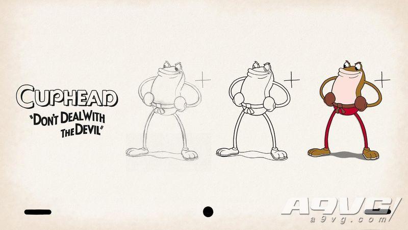 为纪念《茶杯头》发售二周年 官方放出多张角色主题壁纸