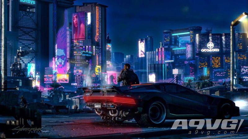 CDPR公开《赛博朋克2077》夜之城新图 游戏或有拍照模式