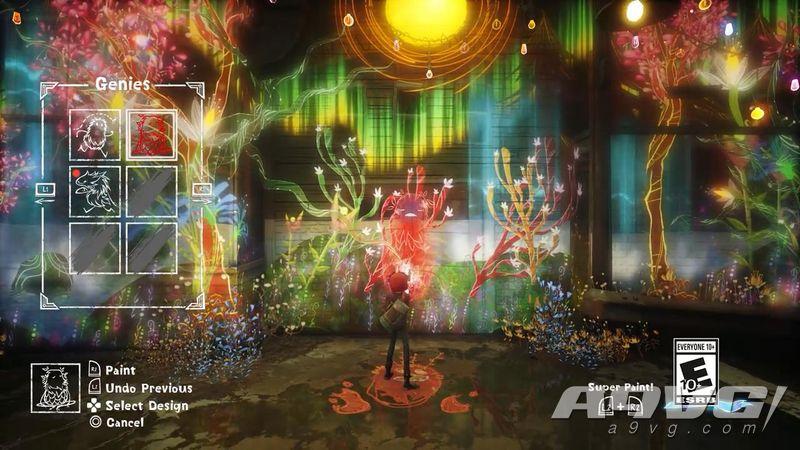 PS4独占游戏《壁中精灵》公开17分钟实机演示