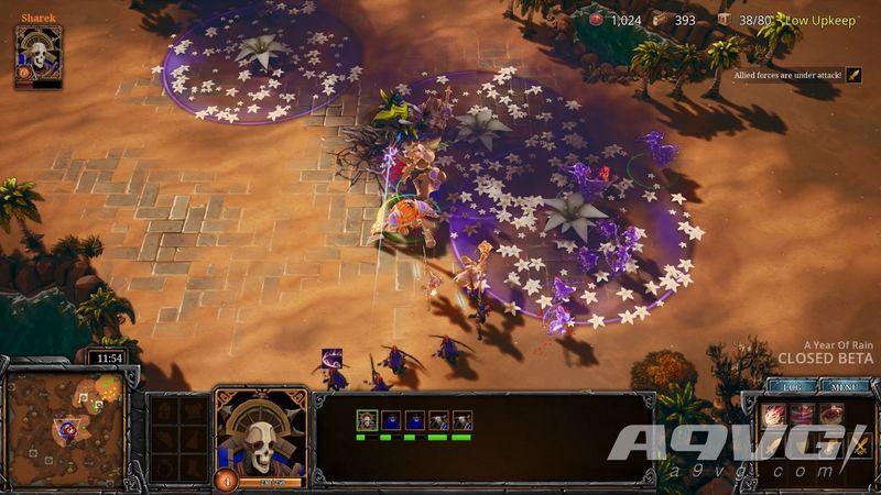 团队RTS游戏《A YEAR OF RAIN》将于11月6日登陆Steam