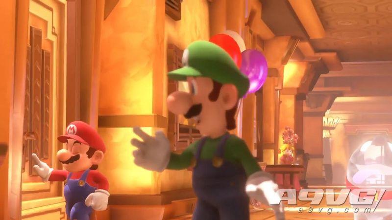任天堂公开《路易吉洋馆3》新影像 包含过场动画与新实机试玩