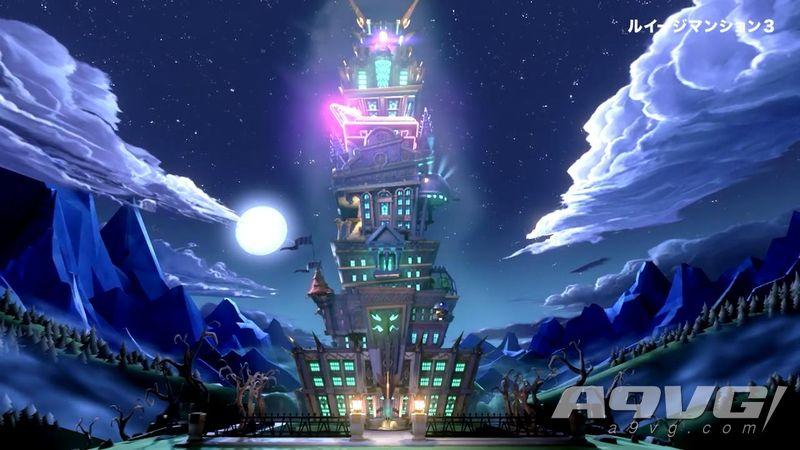 任天堂公开《路易吉洋馆3》第三段TVCM和游戏介绍影像