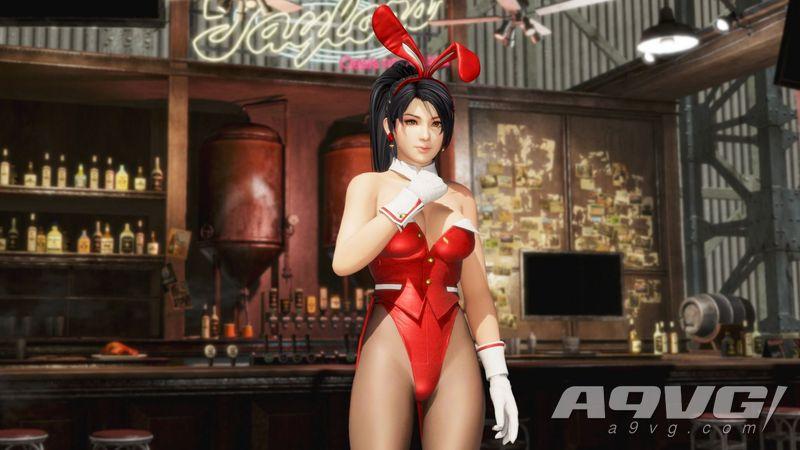 """《死或生6》服装DLC""""复刻兔兔装""""介绍演示影像 今日已上架"""