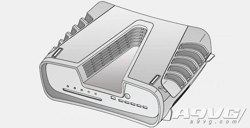 PS5開發機實物照片泄露 機身細節與注冊專利附帶圖片相差無幾