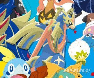 """日本711活动出现《宝可梦 剑》封面神兽""""苍响""""新形态"""