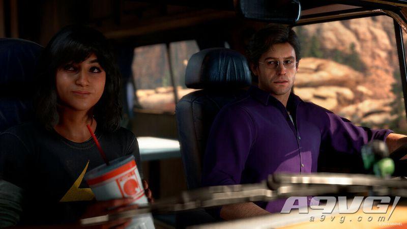 《漫威复仇者联盟》公开惊奇女士卡玛拉克汗秒速赛车宣传片